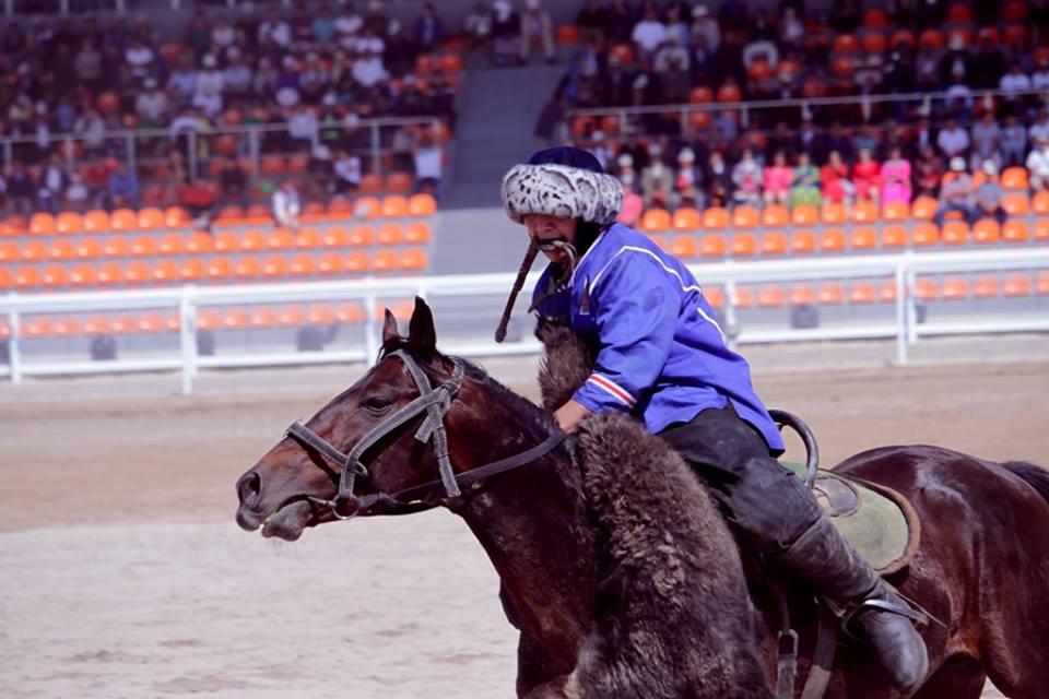 Команда китайских кыргызов завоевала «бронзу» насостязаниях покок-бору