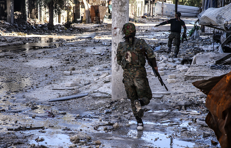 ВАлеппо под обстрел боевиков угодила гостиница