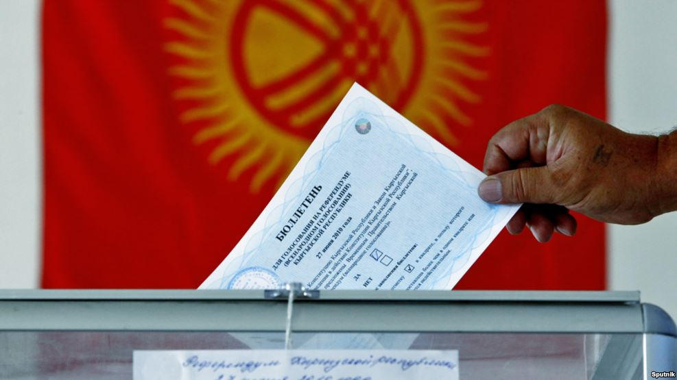 ВКиргизии стартовал конституционный референдум