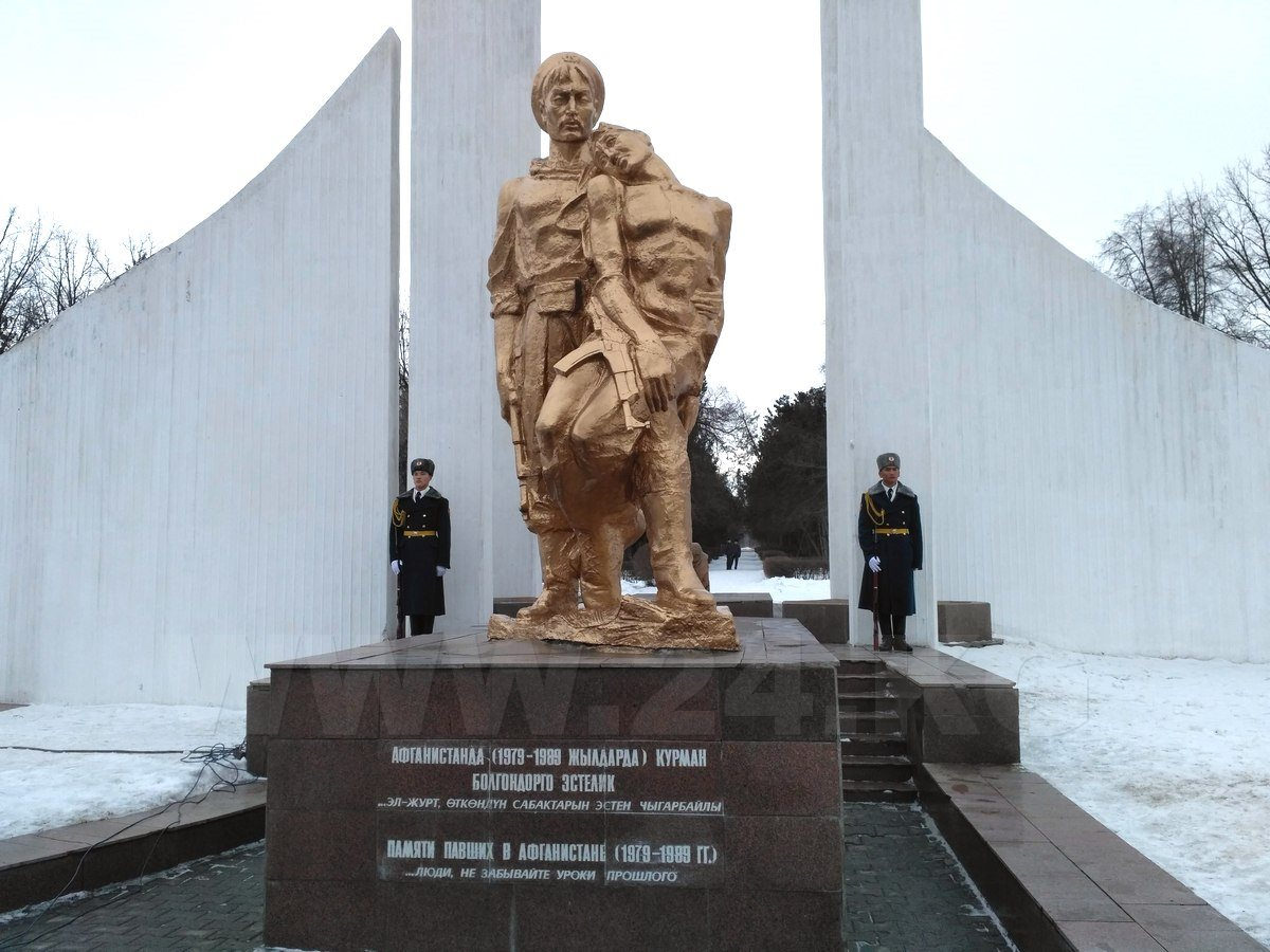 Митинг провели вЩекино вканун 28-й годовщины вывода войск изДРА