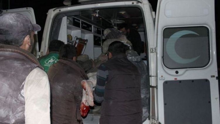 Из-за авианалета намечеть погибли десятки людей— вражда вСирии