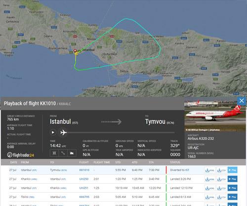 Украинские летчики посадили пассажирский самолет, ужасно побитый градом— Высший пилотаж