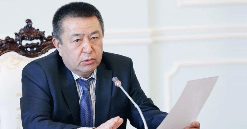 Спикер парламента Киргизии объявил о преждевременном сложении полномочий