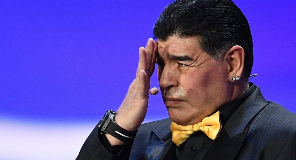 Диего Марадона стал председателем правления клуба «Динамо Брест»