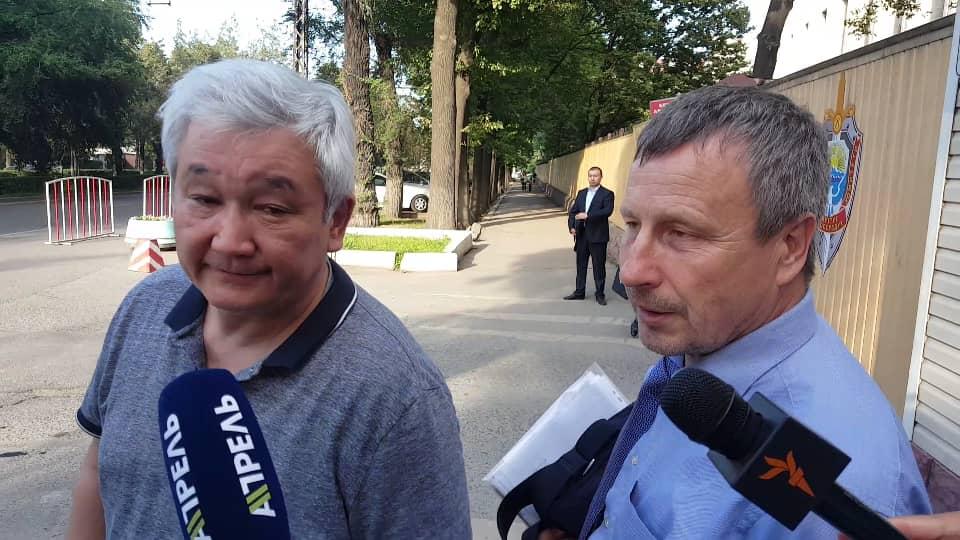 Следствие ходатайствует обаресте экс-мэра Бишкека Кубанычбека Кулматова