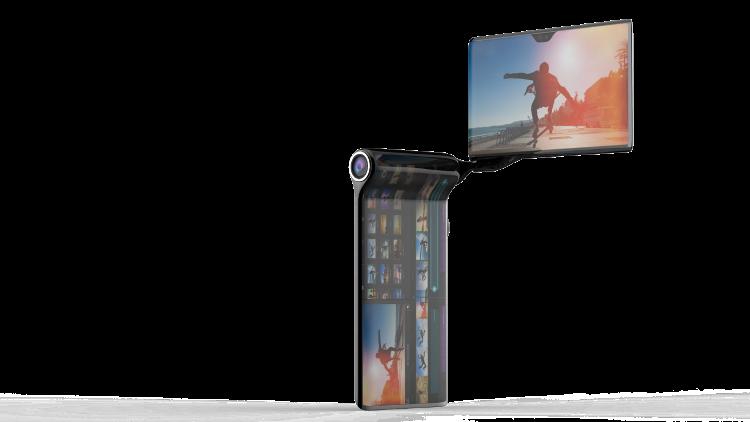 Turing Space Industries представила концепт-кар HubblePhone с4 экранами