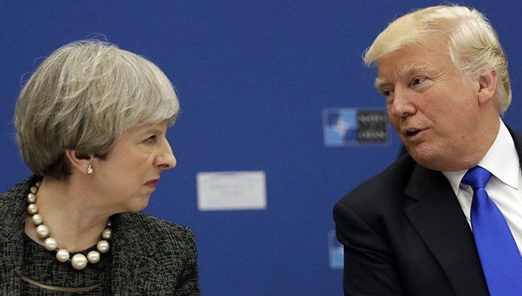 Трамп отказался встречаться сМэй, так как она его раздражает