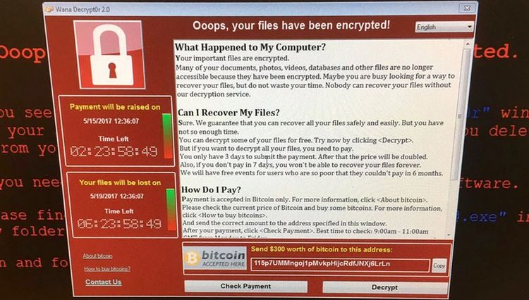 Так выглядит компьютер который заразился опасным троянцем
