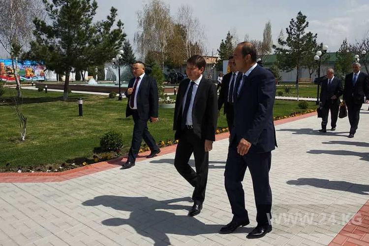 Состоялось первое совещание Совета управляющих приграничных областей Узбекистана иКыргызстана
