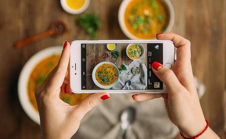 Появилось приложение, подсчитывающее калории еды пофотографии
