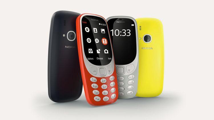 Обновленная нокиа  3310 вышла в реализацию  в РФ