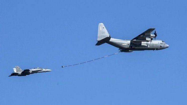 Уберегов Японии разбились два американских военных самолета