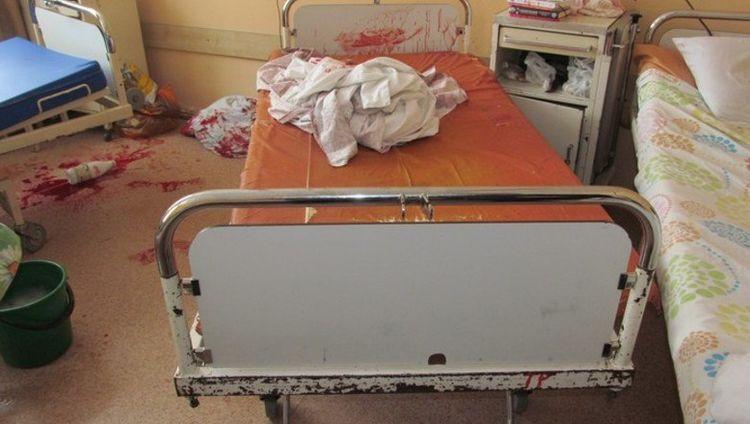 В больнице Волгограда обезумевшая пенсионерка устроила кровавую резню