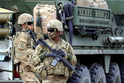ВПольше обокрали контейнер армии США своенным оборудованием