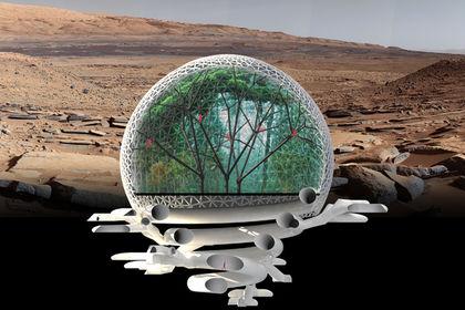 Американские инженеры представили проект города наМарсе на 10 000 граждан
